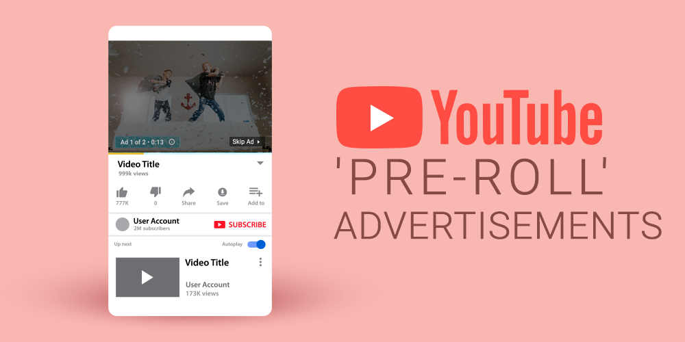 YouTube Pre Roll Advertising